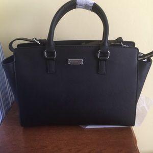 saint laurent shopping bag - 67% off New York & Company Handbags - Large red Michael kors knock ...