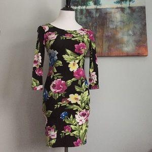 NWOT Pretty Floral Dress