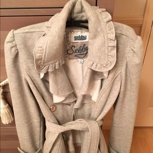 Zara Jackets & Blazers - LIKE NEW!!! Heather grey jacket