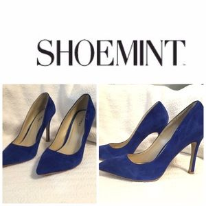 ‼️price reduced‼️Shoemint cobalt pumps.