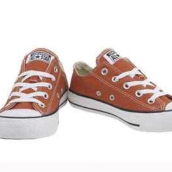 Converse Shoes   Burnt Orange Converse