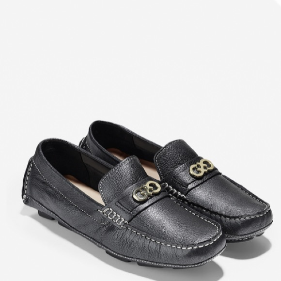 Cole Haan Shelby Logo Driver Loafers