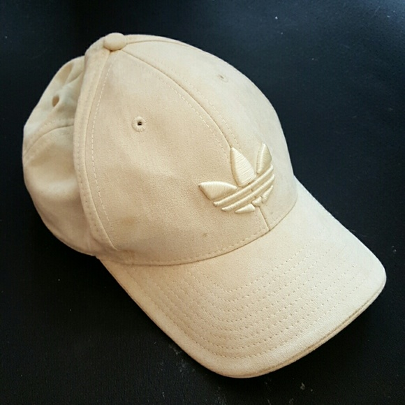 Adidas Accessories - Suede Adidas Fitted Hat 4c1313eee50