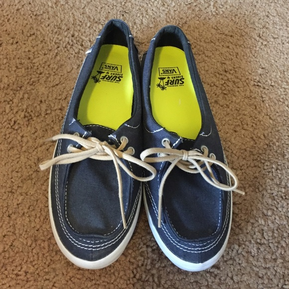 71% off Vans Shoes - Vans surf siders NWOT from Krysta's closet on ...