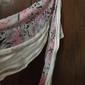Accessories - Infinity Japanese print scarf