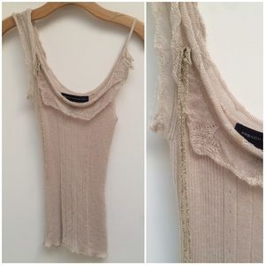 Golden Lilac Sweater Tank