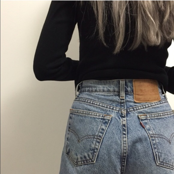 old school jeans