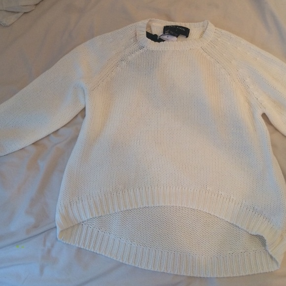 White Knit Sweater Urban Outfitters 53