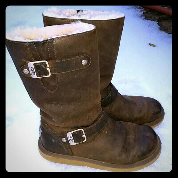 UGG Shoes   Metal Tag Ugg Boots   Poshmark