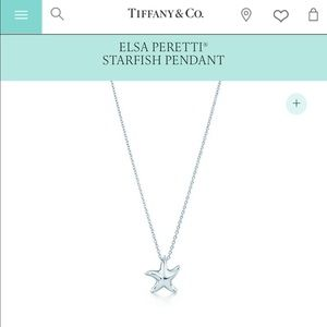 *SALE*Tiffany & Co. ELSA PERETTI® STARFISH PENDANT