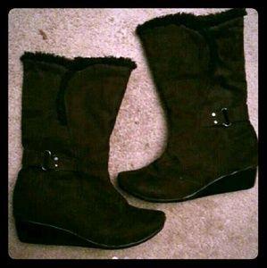 Vittorio d'Firenze Black Heel Boots