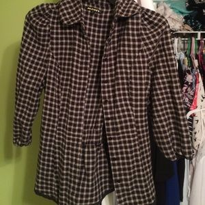 Alcott Jackets & Blazers - Cute plaid jacket