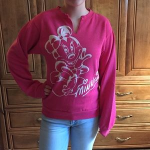 Jackets & Blazers - VINTAGE MINNIE MOUSE SWEATSHIRT
