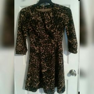 Hot Sale BANANA REPUBLIC animal print dress