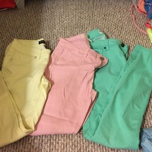 Pastel jeggings/ pants