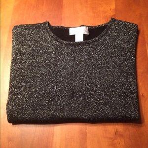 Susan Graver Tops - Women's black top. NWOT