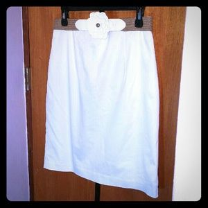 Worthington white skirt (unused)
