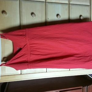 Red dress from Old Navy