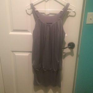 Forever 21 Silver Dress