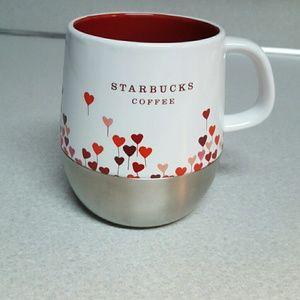 ... Starbucks 2007 Valentines Mug Stainless Bottom ...