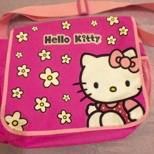 Hello Kitty Shoulder Bag Backpack Purse Kawaii