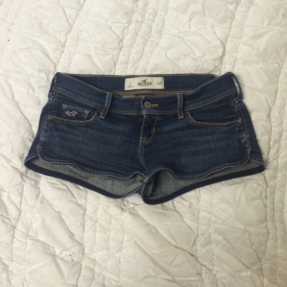 hollister jean shorts - photo #17