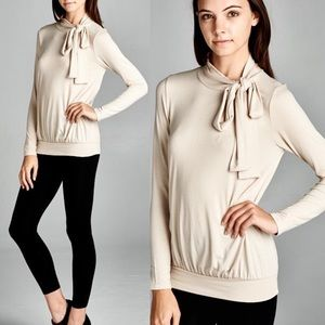 Bow Sweater Top