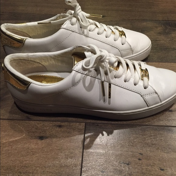 aba33e0a594 Michael Kors Irving lace-up sneakers. M 56836459a722655e5502db6c