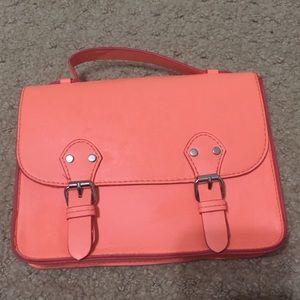 Neon Orange Cross Body bag