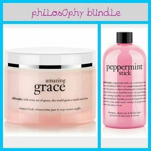 Philosophy Other - PhiLosOphy amazing grace lotion