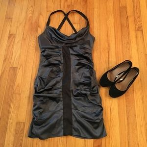Morgan & Co. Dresses & Skirts - Morgan and Co. Charcoal dress