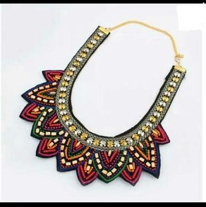 ✳BOGO Colorful Beaded Bib Collar Choker Necklace