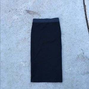Zara Dresses & Skirts - High waist pencil skin tight skirt from Zara