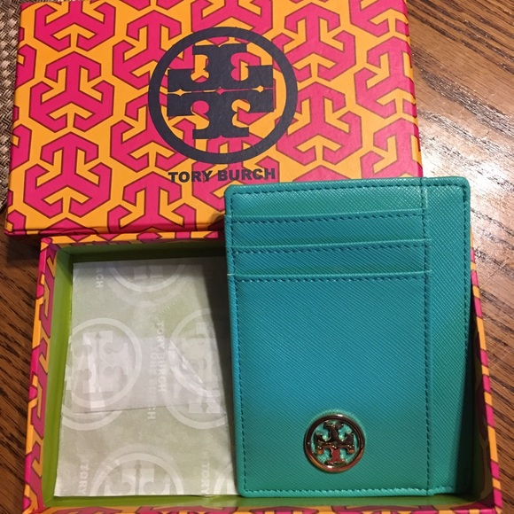 62 Off Tory Burch Accessories Tory Burch Credit Card Holder