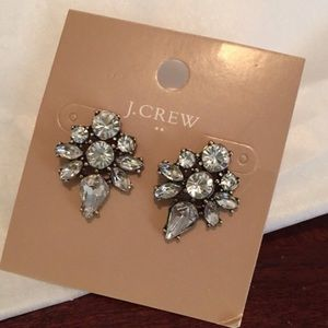 J. Crew Crystal Earrings
