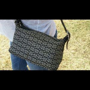 Mini authentic Coach handbag