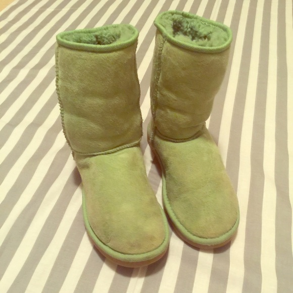 Rare Limited Edition Lime Green Ugg Boots