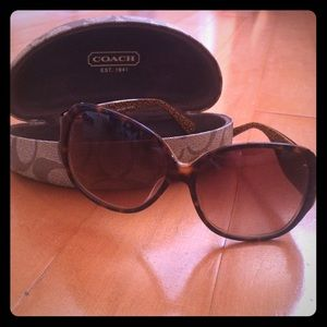 Coach Sunglasses - Tortoise