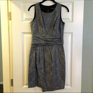 Cynthia Steffe Dresses & Skirts - Cynthia Steffe Gray Asymmetrical Hem Dress