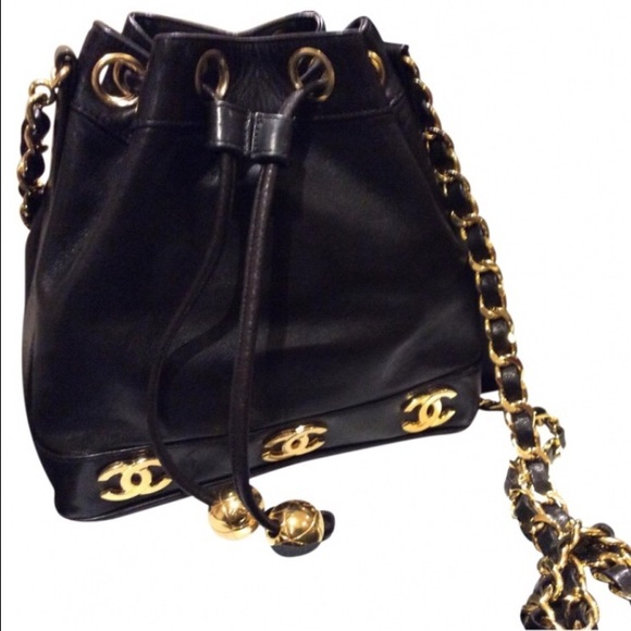 b9d464190d03 CHANEL Handbags - Authentic Vintage Chanel drawstring bag.