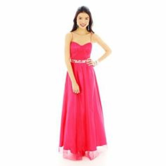 JcPenny Pink Formal Dress Prom ON SALE