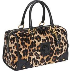 Juicy couture leopard handbag .Used about a month
