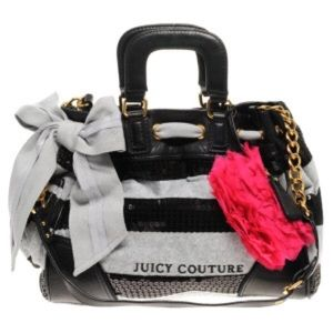 Juicy couture grey&black sequin daydreamer