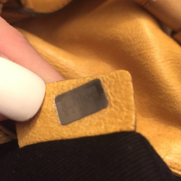 89% off Chloe Handbags - Chloe Large Leather Ethel Hobo from ...