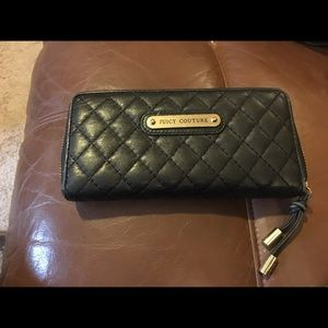 Juicy couture leather wallet .. Used