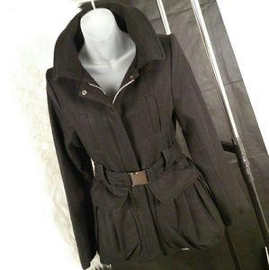 Jackets & Blazers - Steampunk Skirted Wool Coat