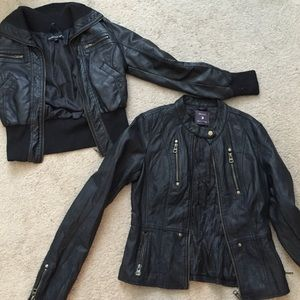 Forever 21 Jackets & Blazers - Two Leather Jackets