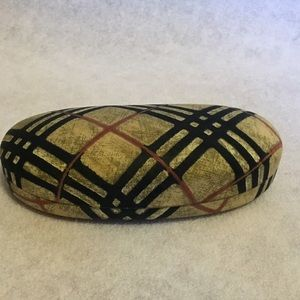Authentic Burberry glasses case