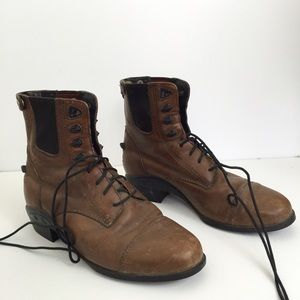 Ariat lace-up riding boots