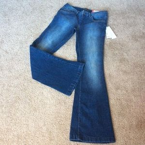 Esprit flare Jeans in Organic cotton boot cut